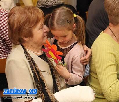 świąteczne, Dziś Dzień Babci Pamiętaj życzeniach - zdjęcie, fotografia