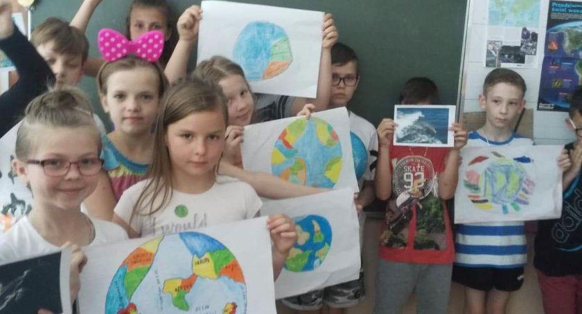 """edukacja, Obchody Światowego Oceanów zambrowskiej """"Trójce"""" - zdjęcie, fotografia"""