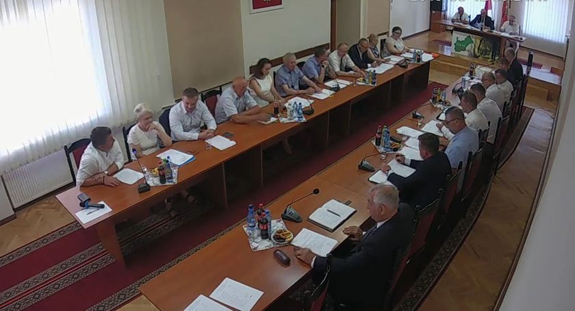 Rada Powiatu Zambrowskiego radni, Zarząd Powiatu absolutorium - zdjęcie, fotografia
