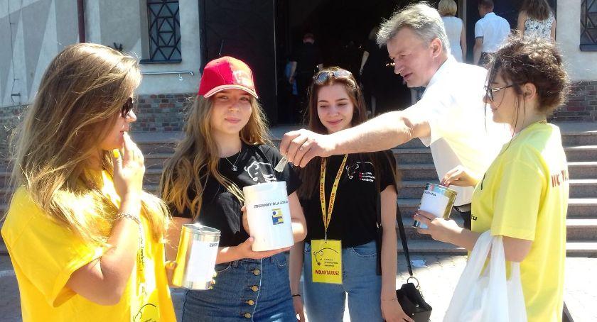 charytatywne wolontariat, Zambrowianie żałowali grosza leczenie letniego Adriana [foto] - zdjęcie, fotografia