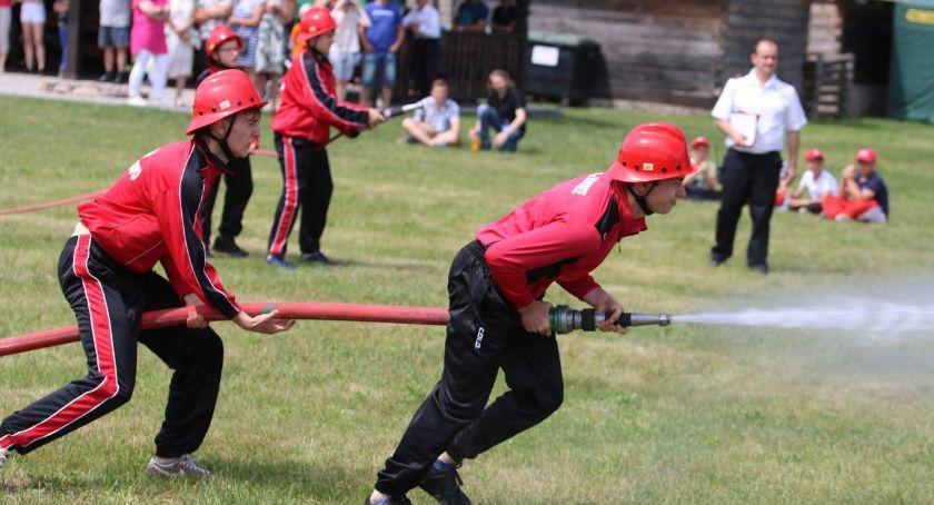pożary i straż, Strażacy gminy Szumowo rywalizowali sportach pożarniczych [foto] - zdjęcie, fotografia