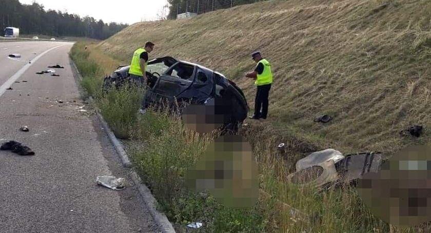 wypadki drogowe , osoby żyją Tragiczny wypadek [aktualizacja] - zdjęcie, fotografia