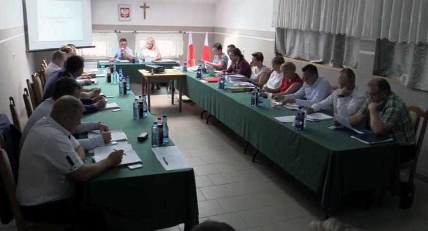 Rada Gminy Kołaki radni, Wójt Sylwester Jaworowski wotum zaufania absolutorium - zdjęcie, fotografia