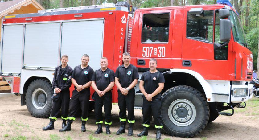 pożary i straż, Zbrzeźnicy włączona - zdjęcie, fotografia