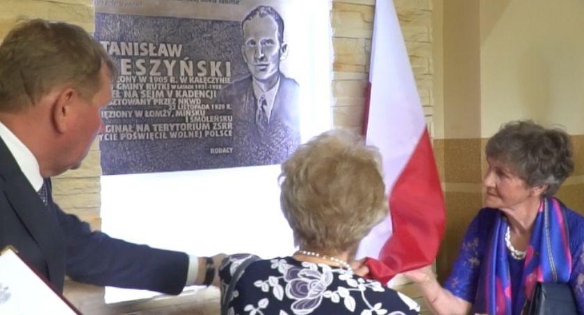 wydarzenia, Rutki uczciły pamięć przedwojennego wójta Stanisława Śleszyńskiego [foto] - zdjęcie, fotografia