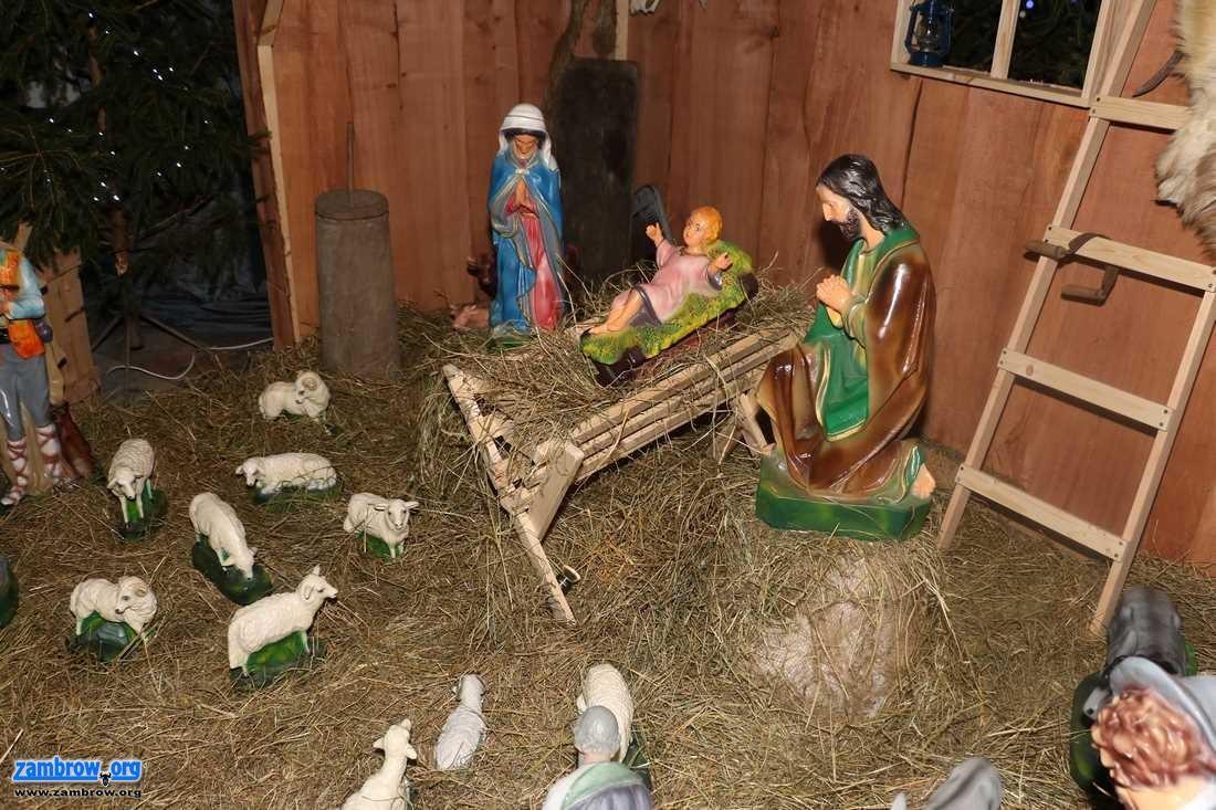 święta, Szopki bożonarodzeniowe zambrowskich parafiach [foto+video] - zdjęcie, fotografia