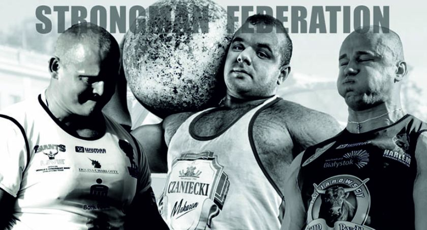 wydarzenia, Najwięksi siłacze Zambrowie Puchar Narodów Strongman niebawem targowicy miejskiej - zdjęcie, fotografia