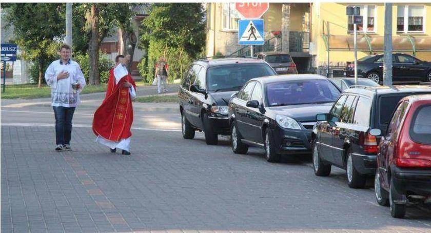 religia, Harmonogram święcenia samochodów zambrowskich parafiach - zdjęcie, fotografia