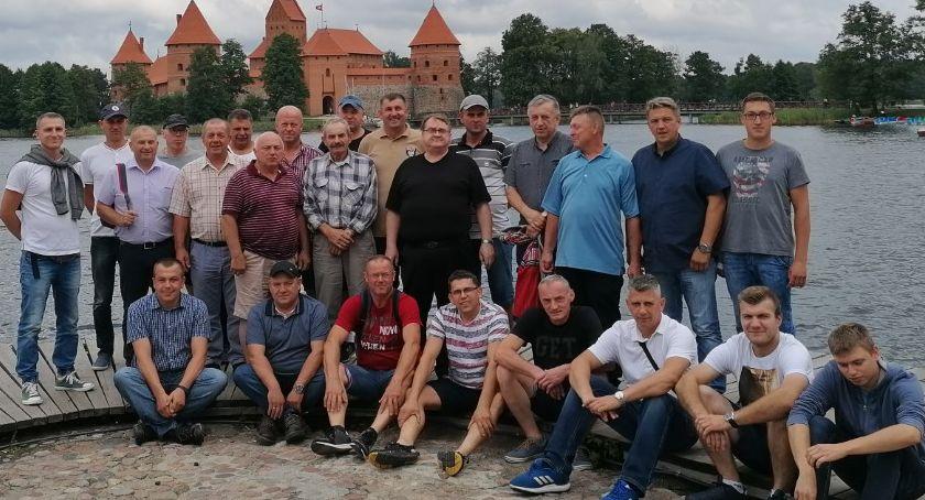 pożary i straż, Strażacy ochotnicy wizytą Litwie [foto] - zdjęcie, fotografia