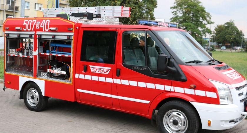 pożary i straż, Samochód ratowniczo gaśniczy wesprze działania Przeździecko Mroczki [foto] - zdjęcie, fotografia