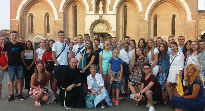 edukacja, Włoska przygoda uczniów Miejskiego Gimnazjum Zambrowie - zdjęcie, fotografia