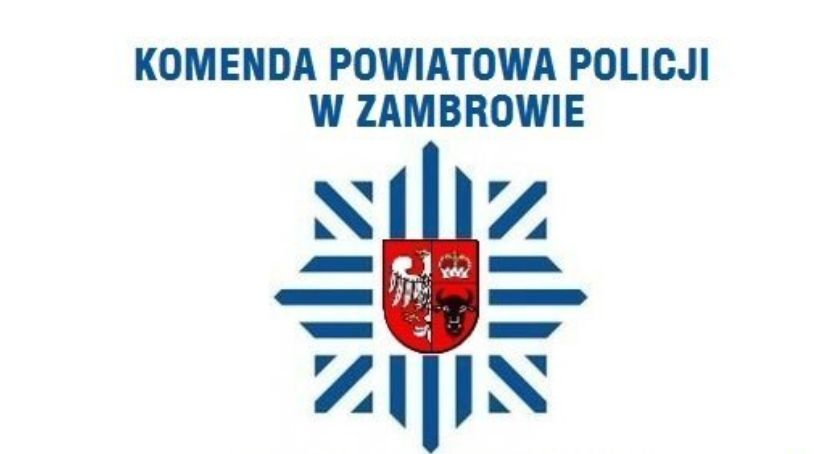 policja, Wymiana naczelników drogówki między zambrowską łomżyńską komendą - zdjęcie, fotografia