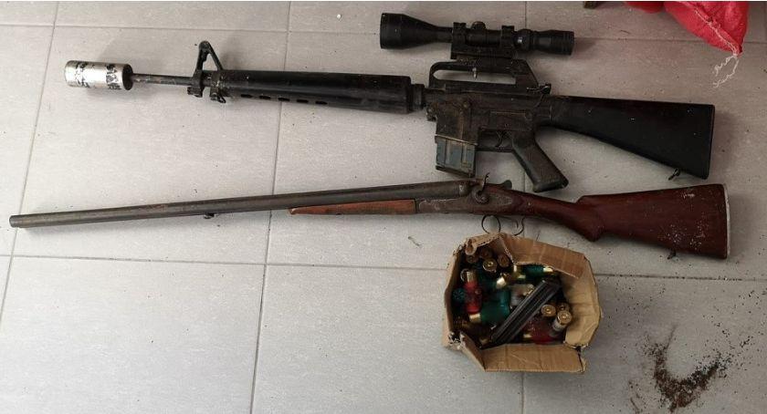 sprawy kryminalne, Broń amunicję ukrywał lesie latek trafił aresztu - zdjęcie, fotografia