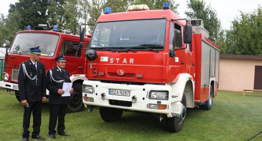 pożary i straż, Przekazano strażacki Srebrnej [foto] - zdjęcie, fotografia