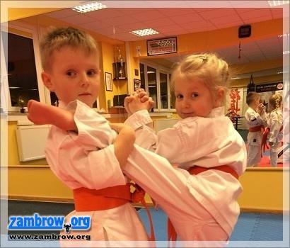 artykuł sponsorowany, jutra otwarte Zambrowskim Klubie Karate Kyokushin! - zdjęcie, fotografia