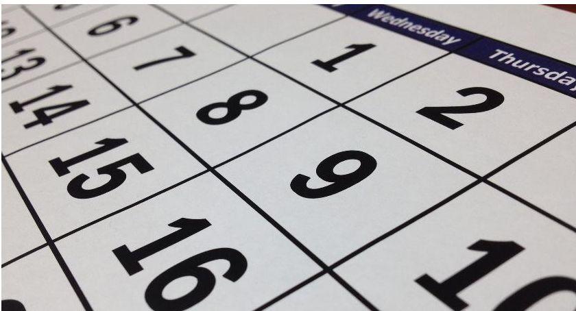 edukacja, Kalendarz szkolnego 2019/2020 Kiedy wolne - zdjęcie, fotografia