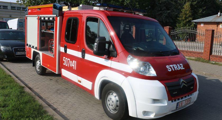 pożary i straż, jednostki Poryte Jabłoń trafił lekki samochód ratowniczo–gaśniczy [foto] - zdjęcie, fotografia