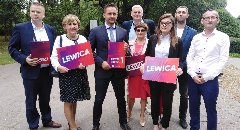 wybory parlamentarne, Wybory parlamentarne Lewica przedstawiła kandydatów Sejmu - zdjęcie, fotografia