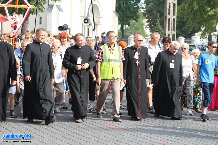 religia, Zambrowska Piesza Pielgrzymka drodze Hodyszewa [foto+video] - zdjęcie, fotografia
