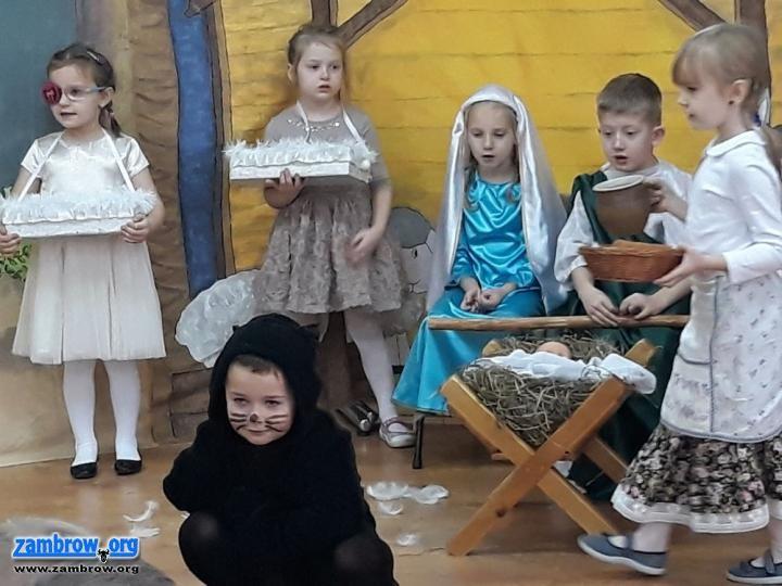 święta, Jasełka wykonaniu wychowanków - zdjęcie, fotografia