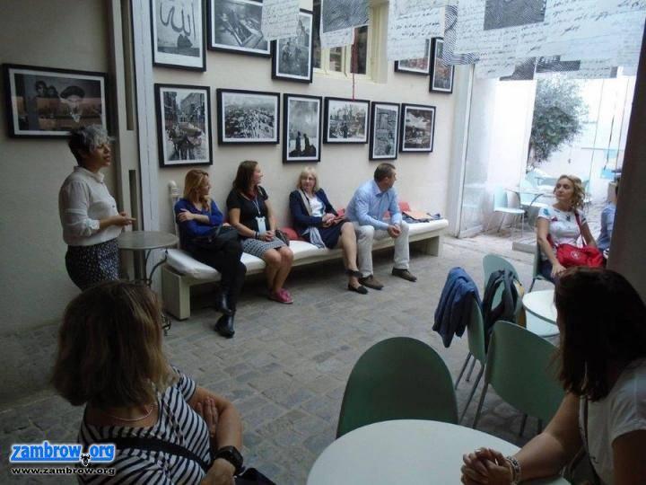 """edukacja, Delegacja """"Czwórki"""" wizytą Grecji - zdjęcie, fotografia"""