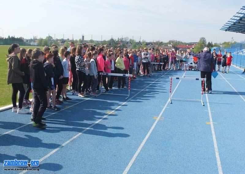 bieganie lekkoatletyka unihokej, Igrzyska Powiatowe lekkoatletyce rozstrzygnięte - zdjęcie, fotografia