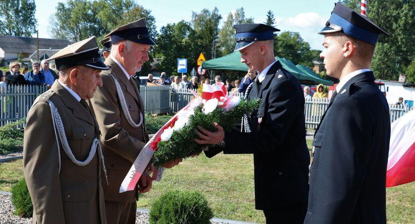 uroczystości obchody, rocznica bitwy Łętownicą Andrzejewem [foto] - zdjęcie, fotografia