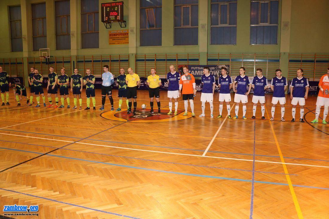 piłka nożna futsal, ligę Zambrów jeszcze poczekać Bolesna porażka barażach [foto] - zdjęcie, fotografia