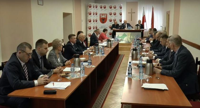 Rada Powiatu Zambrowskiego radni, sesja Powiatu Zambrowskiego ŻYWO - zdjęcie, fotografia