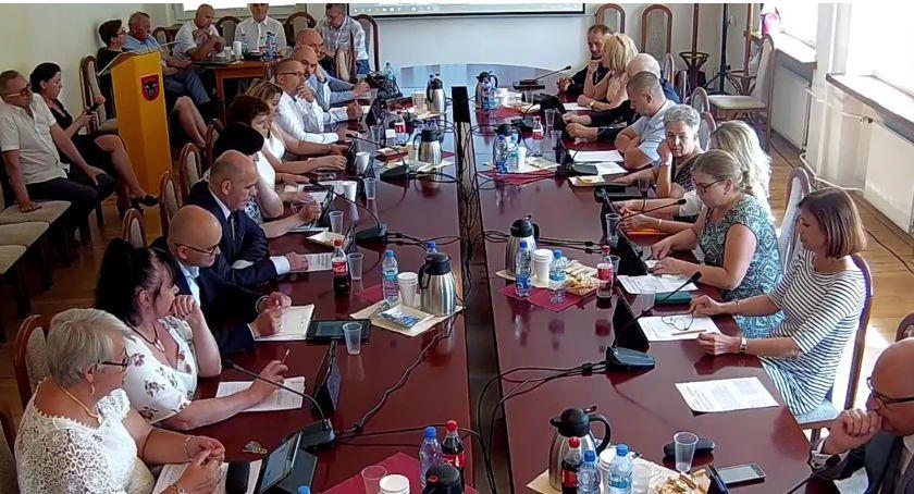 Rada Miasta Zambrów radni, Radni złożyli wnioski budżetu Miasta Zambrów - zdjęcie, fotografia