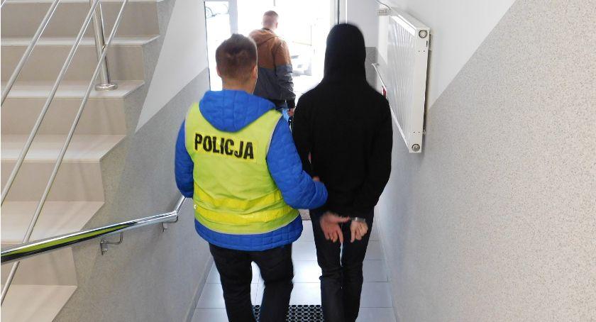 policja, Sprawca rozboju zatrzymany - zdjęcie, fotografia