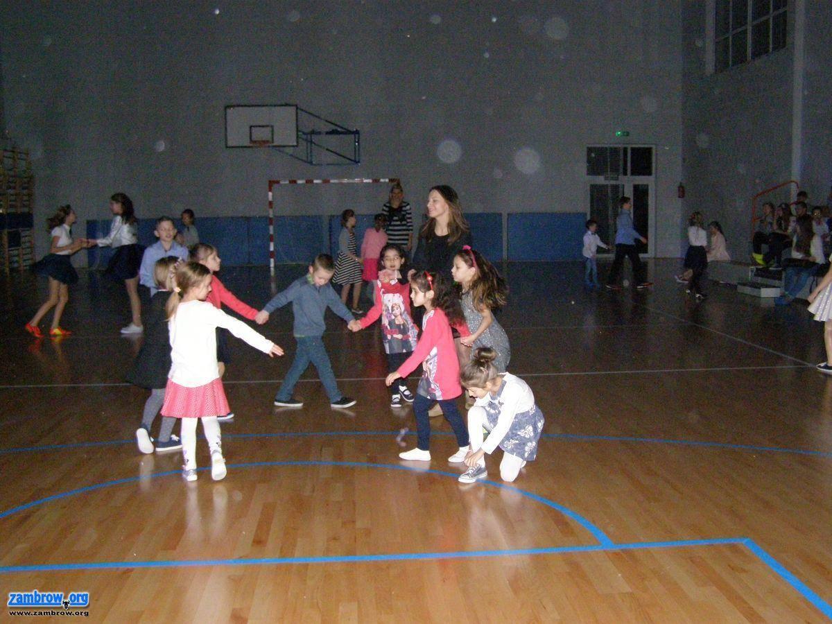 edukacja, Choinka szkolna Srebrnej - zdjęcie, fotografia