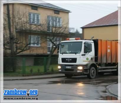 samorząd, Harmonogram odbiorów odpadów komunalnych Zambrowie - zdjęcie, fotografia
