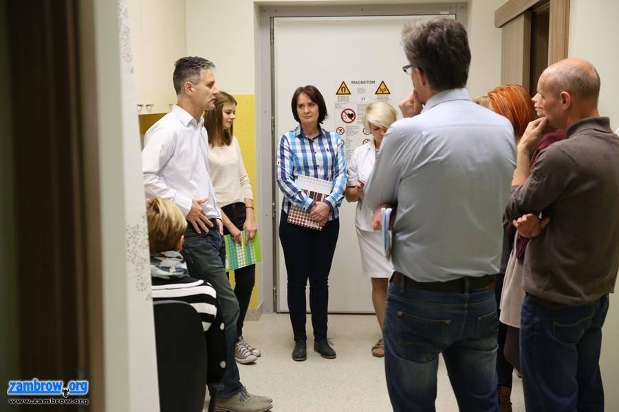 inwestycje, Zambrowski szpital wzbogacił rezonans magnetyczny - zdjęcie, fotografia