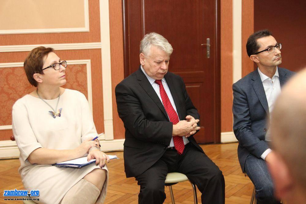 wybory parlamentarne, Parlamentarzyści wizytą Zambrowie [foto+retransmisja] - zdjęcie, fotografia