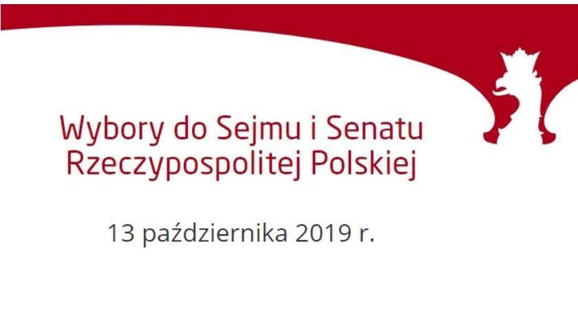 wybory parlamentarne, Wyniki wyborów Sejmu Senatu Zambrowie - zdjęcie, fotografia