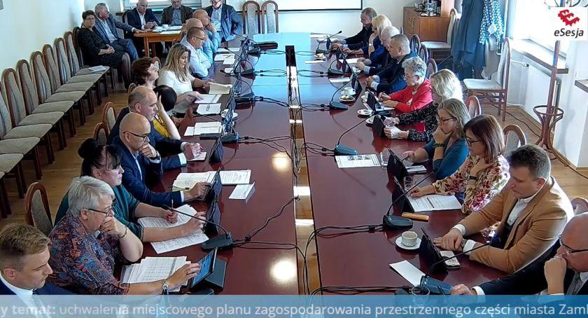 Rada Miasta Zambrów radni, stycznia wyższe podatki lokalne - zdjęcie, fotografia