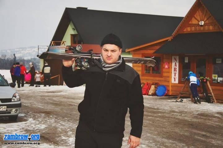 rekreacja wypoczynek, Udany wypoczynek nartach [foto] - zdjęcie, fotografia