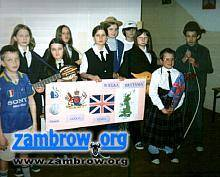 edukacja, uczniowie Wiśniewie przywitali wiosnę - zdjęcie, fotografia