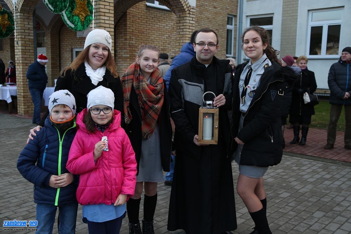 święta, Zambrowianie spotkali wspólnej wigilii [foto+video] - zdjęcie, fotografia