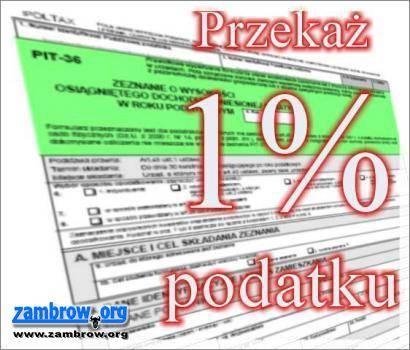 społeczeństwo, można przekazać podatku Zambrowie - zdjęcie, fotografia