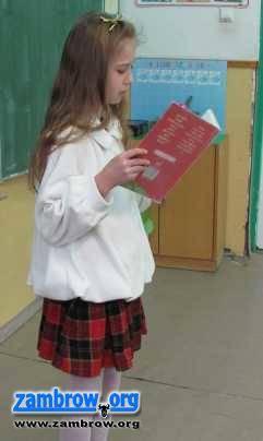 edukacja, Konkurs recytatorski Szumowie - zdjęcie, fotografia
