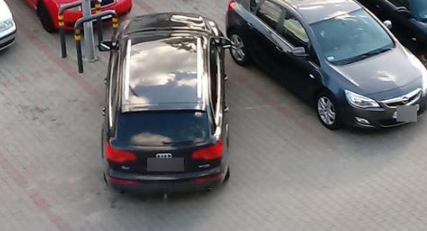 parkuj z głową, Parkuj głową bądź egoistą parkingowym [foto] - zdjęcie, fotografia