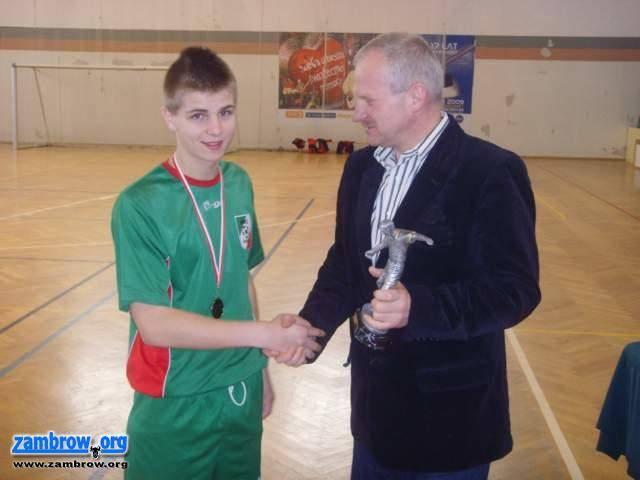 piłka nożna futsal, Wyniki Międzynarodowego Turnieju Piłki Nożnej Żubr Zambrów - zdjęcie, fotografia