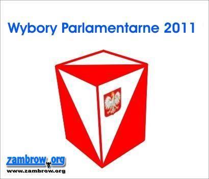 wybory/polityka, Niezbędnik Wyborcy granice obwodów głosowania terenie powiatu zambrowskiego - zdjęcie, fotografia