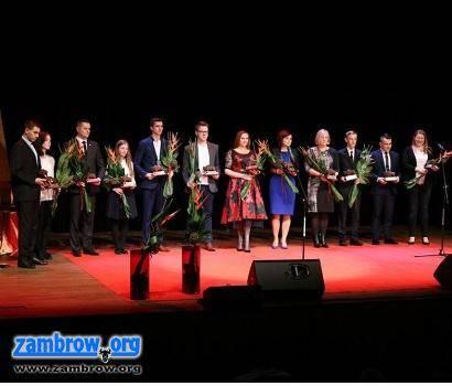 wydarzenia, Videorelacja wręczenia Zambrowskich Żubrów [video] - zdjęcie, fotografia