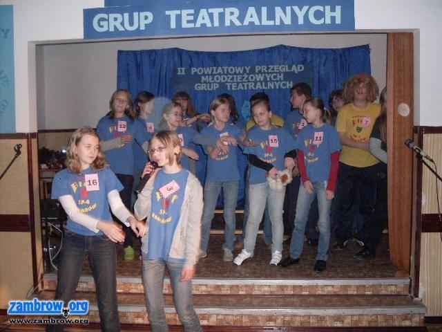 kultura, Powiatowy Przegląd Młodzieżowych Teatralnych zakończony - zdjęcie, fotografia