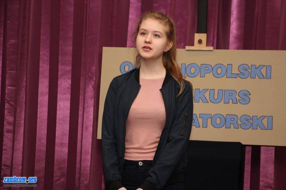 kultura_, Ogólnopolski Konkurs Recytatorski finał szczebla powiatowego [foto] - zdjęcie, fotografia