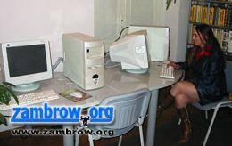 edukacja, Zambrów otrzymał komputery Ruszają hotspoty - zdjęcie, fotografia