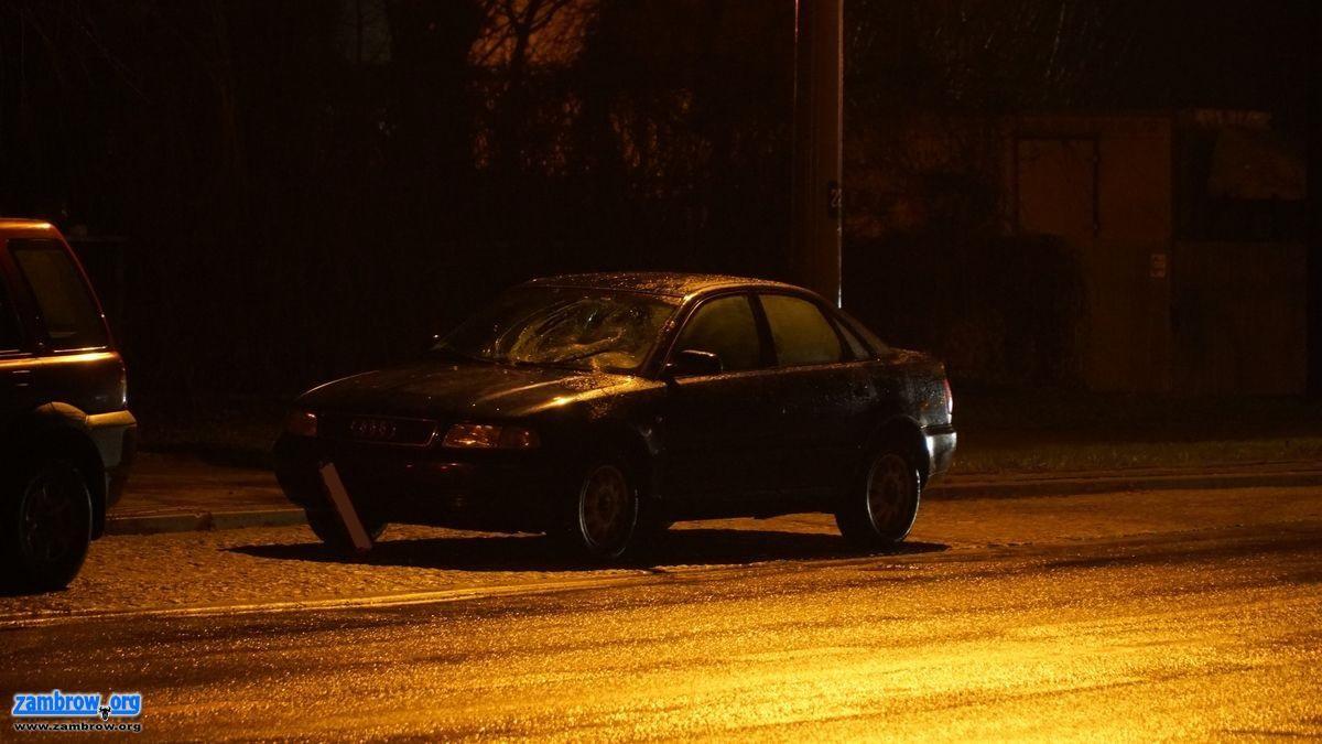 policja, Potrącenie przejściu pieszych [foto] - zdjęcie, fotografia